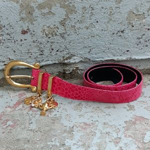 Escada belt with equestrian dangles.  Size 38